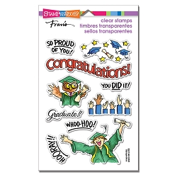Stampendous - Grad Gift Perfectly Clear Stamps