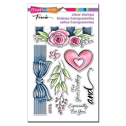 Stampendous - Wedding Gift Perfectly Clear Stamps