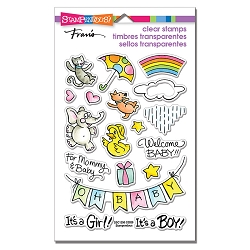 Stampendous - Baby Gift Perfectly Clear Stamps
