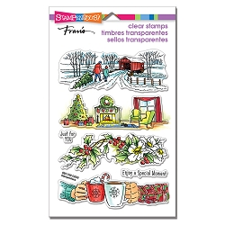 Stampendous - Holiday Gift Perfectly Clear Stamps