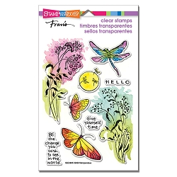 Stampendous - Moonlit Wings Perfectly Clear Stamps