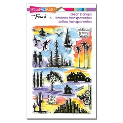 Stampendous - Sunrise Sunset Perfectly Clear Stamps