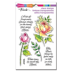 Stampendous - Fragrant Rose Perfectly Clear Stamps