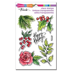 Stampendous - Leafy Holiday Perfectly Clear Stamps
