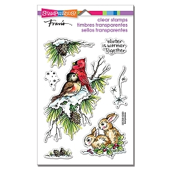 Stampendous - Birds & Bunnies Perfectly Clear Stamps