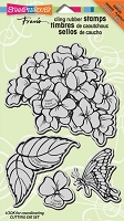 Stampendous Cling Mounted Rubber Stamps - Hydrangea Garden