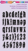 Stampendous Perfectly Clear Stamps - Vintage Lowercase