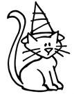 Stampendous Perfectly Clear Stamp - Witch Kitty