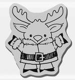 Stampendous Cling Mounted Rubber Stamp - Short Moose