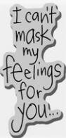 Stampendous Cling Mounted Rubber Stamp - Mask Feelings
