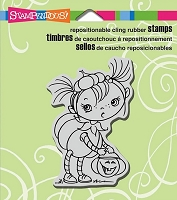 Stampendous Cling Mounted Rubber Stamps - Pumpkin Kiddo