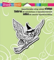 Stampendous Cling Mounted Rubber Stamps - Wicked Owl