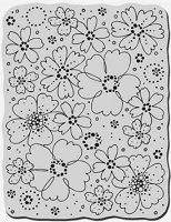 Stampendous Cling Mounted Rubber Stamp - Flower Frenzy