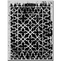 Stampendous Cling Mounted Rubber Stamp - Decorative Grate