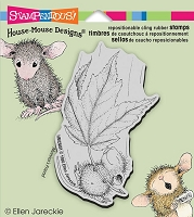 Stampendous Cling Mounted Rubber Stamps - House Mouse Designs - Fall Float