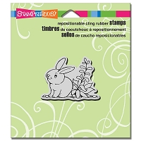 Stampendous Cling Mounted Rubber Stamps - Garden Hare
