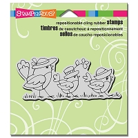 Stampendous Cling Mounted Rubber Stamps - Chick Parade