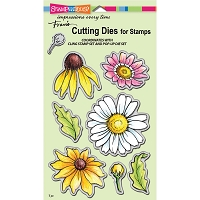 Stampendous - Cutting Die - Daisy Mix Die Cut Set