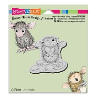 Stampendous Cling Mounted Rubber Stamps - House Mouse Designs - Jelly Bean Thief