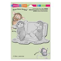 Stampendous Cling Mounted Rubber Stamps - House Mouse Designs - Kiss Stamp
