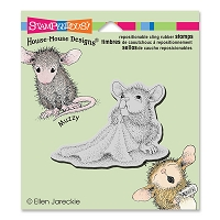Stampendous Cling Mounted Rubber Stamps - House Mouse Designs - Baby Blanket