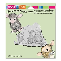 Stampendous Cling Mounted Rubber Stamps - House Mouse Designs - Shower Of Love
