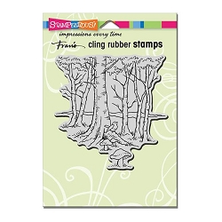 Stampendous Cling Mounted Rubber Stamp - Robin Woods Rubber Stamp