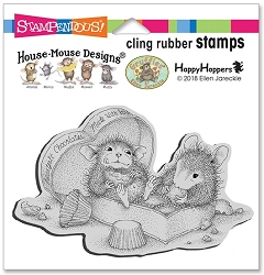 Stampendous Cling Mounted Rubber Stamps - House Mouse Designs - Heartfelt Chocolates Rubber Stamp