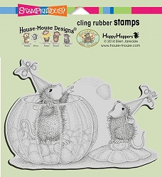 Stampendous Cling Mounted Rubber Stamps - House Mouse Designs - Gumdrop Toss Rubber Stamp
