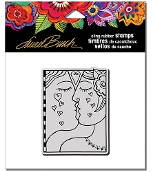 Stampendous - Laurel Burch - Cling Kiss Rubber Stamp