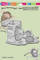 Stampendous Cling Mounted Rubber Stamp - House Mouse First Aid