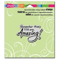 Stampendous Cling Mounted Rubber Stamps - You Are Amazing