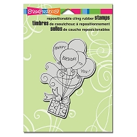 Stampendous Cling Mounted Rubber Stamps - Gift Drift