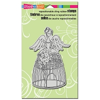 Stampendous Cling Mounted Rubber Stamps - Angel Aviary