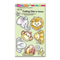 Stampendous - Cutting Die - Jungle Friends Die Set