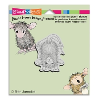 Stampendous Cling Mounted Rubber Stamps - House Mouse Designs - Handstand