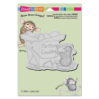 Stampendous Cling Mounted Rubber Stamps - House Mouse Designs - Good Fortune