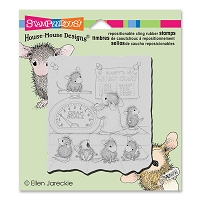 Stampendous Cling Mounted Rubber Stamps - House Mouse Designs - Growth Check