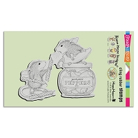 Stampendous Cling Mounted Rubber Stamps - House Mouse Designs - Pepper Power