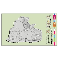 Stampendous Cling Mounted Rubber Stamps - House Mouse Designs - Gouda Wish