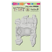 Stampendous Cling Mounted Rubber Stamps - House Mouse Designs - Sweet Workout