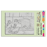 Stampendous Cling Mounted Rubber Stamps - House Mouse Designs - Odorable Friend