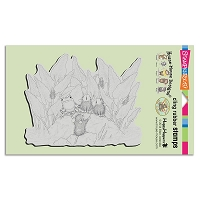 Stampendous Cling Mounted Rubber Stamps - House Mouse Designs - Pond Song
