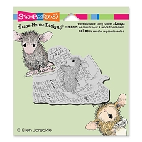 Stampendous Cling Mounted Rubber Stamps - House Mouse Designs - Classified Ad :)