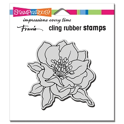 Stampendous Cling Mounted Rubber Stamps - Small Hellebore