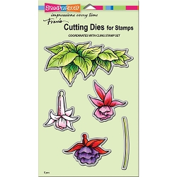 Stampendous - Cutting Die - Fuchsia Trio Cutting Die Set
