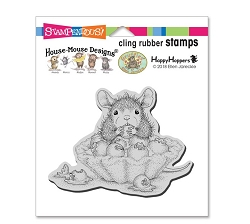 Stampendous Cling Mounted Rubber Stamps - House Mouse Designs - Blueberry Tart Cling Rubber Stamp