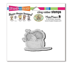 Stampendous Cling Mounted Rubber Stamps - House Mouse Designs - Cotton Ball Cling Rubber Stamp