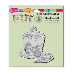 Stampendous Cling Mounted Rubber Stamps - House Mouse Designs - Tiny Tailor Rubber Stamp
