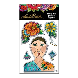 Stampendous - Laurel Burch Blossoming Woman Die Set